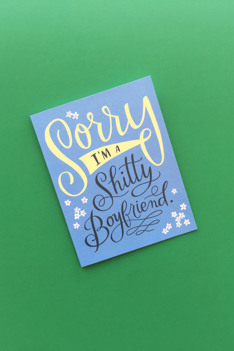 Shitty Boyfriend Card Cards Emily McDowell - Hello Holiday