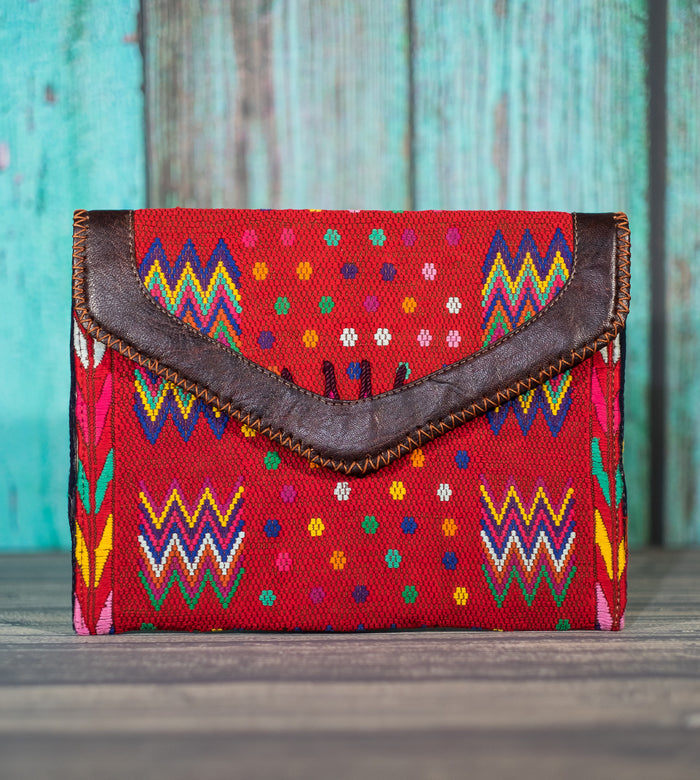 Huipil Dita IPad Clutch purse bag