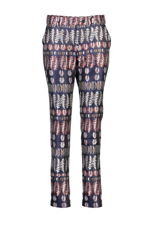 WORLD 4368 Staying Alive Trouser Navy Fern