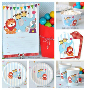 Circus Animals Party Cup
