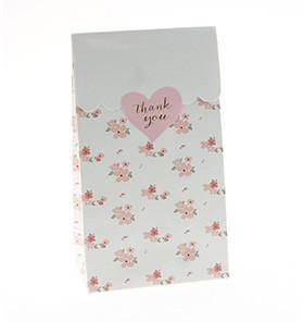 Sambellina Party Bags - White Floral - Bickiboo Party Supplies