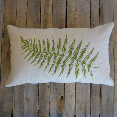 Fern Pillow, 16x26