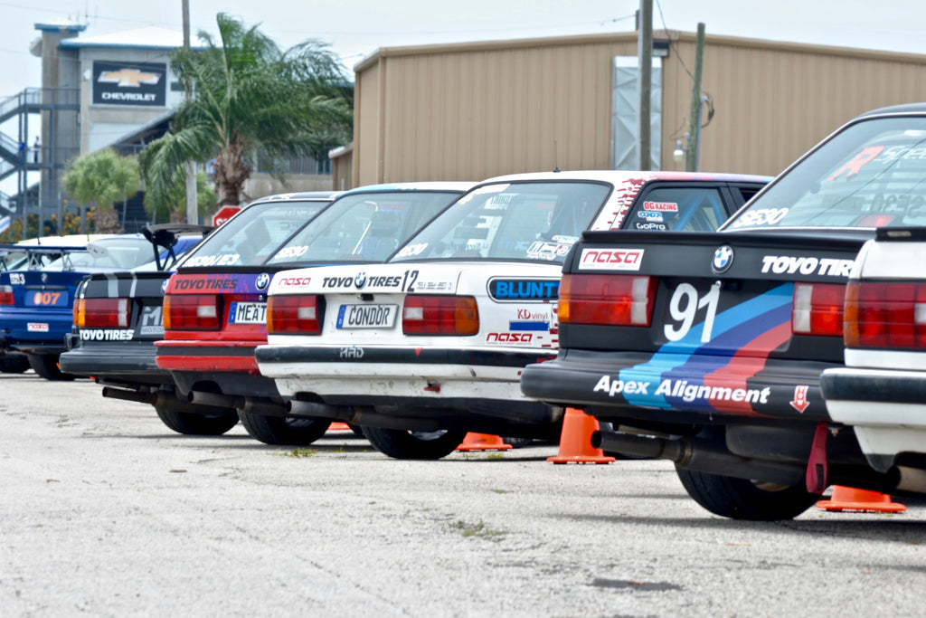Running Stock - A day with Spec E30 at Sebring