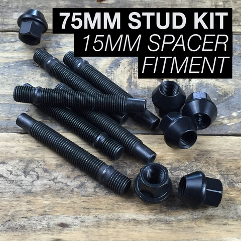 75mm Race Stud Kit - M12×1.5