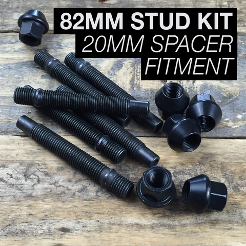 82mm Race Stud Kit - M12×1.5