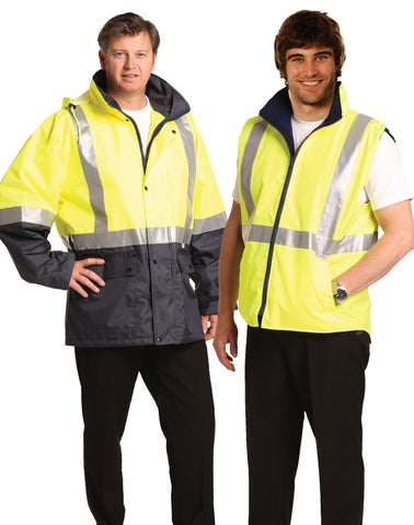 Winning Spirit  Hi Vis 3 in 1 vest and  jacket (SW20A)