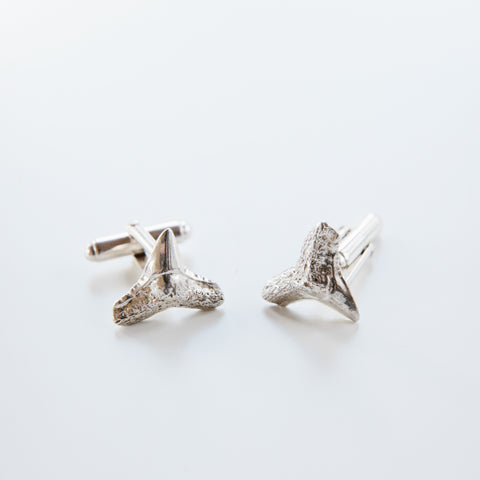 Shark Teeth Cufflinks
