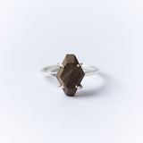 SOLITAIRE {wood ring}