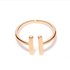 Gold Open Bar Ring