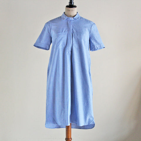 YMC (women) - LIGHTWEIGHT OXFORD SHIRT DRESS