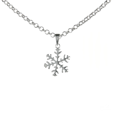 Medium Snowflake Necklace Set
