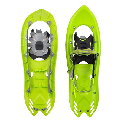 Lightweight Green Snow Shoes Carry Bag Adjustable Poles