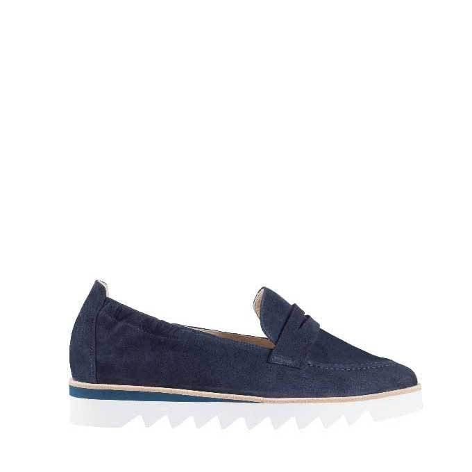 Hogl Navy Loafers