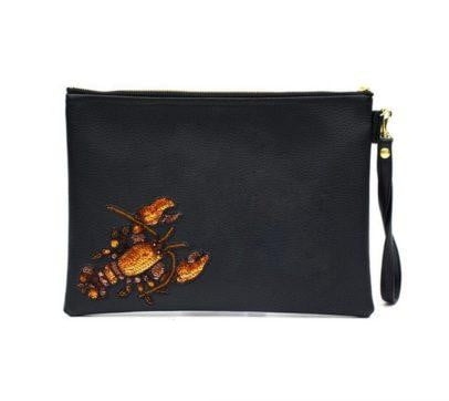 Tea & Tequila Zipolite Lobster Handbag