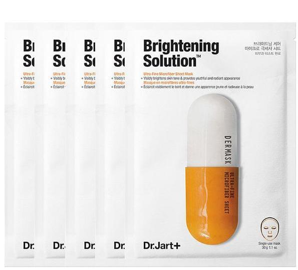 DR JART+ BRIGHTENING SOLUTION MASK (PACK OF 5)