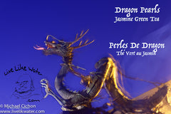 Dragon Pearls: Jasmine Green Tea