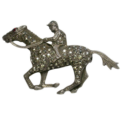 Racehorse Brooch