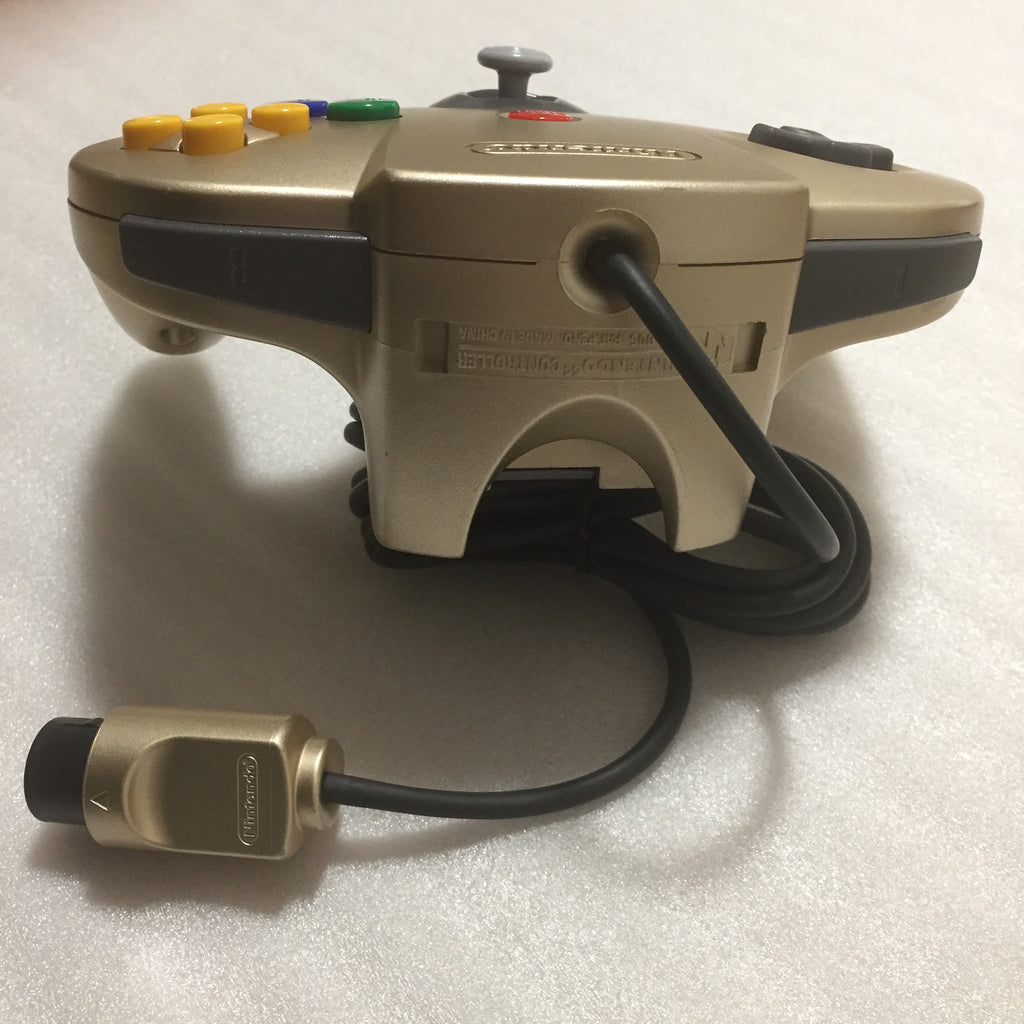 Gold Nintendo 64 set with ULTRA HDMI kit - compatible with JP and US games