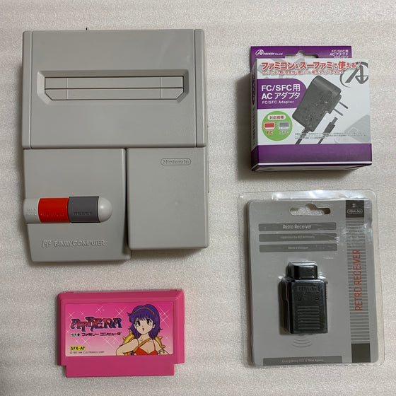 AV Famicom with NESRGB kit - Athena set