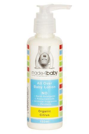The Kids Store-MADE4BABY ALL OVER BABY LOTION ORGANIC CITRUS-