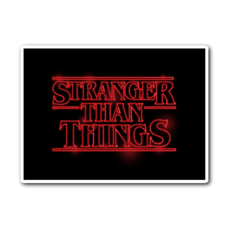 Stranger Than Things - Sticker