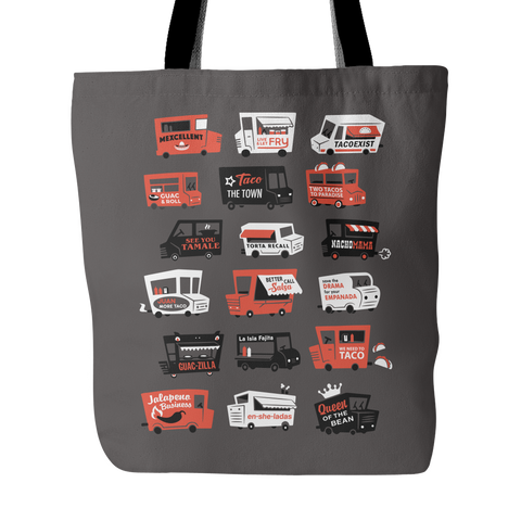 Taco Trucks Everywhere - Tote Bag