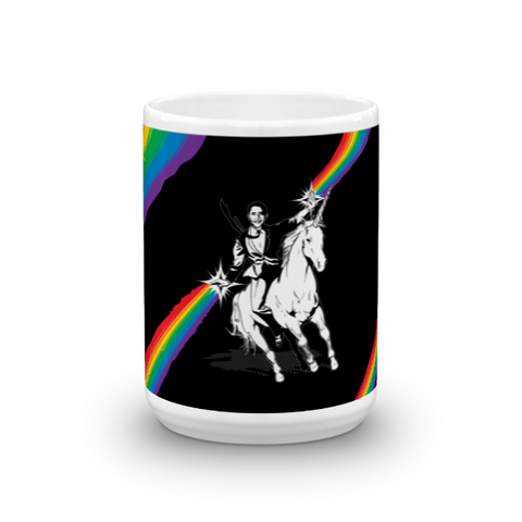 Obama Unicorn Rainbow Mug