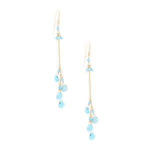 Turquoise Drop Dangle