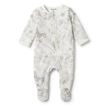 PEEKABOO LONG SLEEVE ZIPSUIT-ZIPSUIT-Wilson and Frenchy
