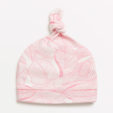 PINK INTO THE JUNGLE KNOT HAT-HAT-Wilson and Frenchy