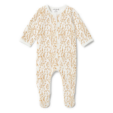 ORGANIC LITTLE VINE ZIPSUIT