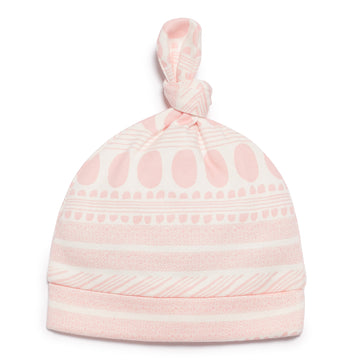 PINK MOON AZTEC KNOT HAT-HAT-Wilson and Frenchy