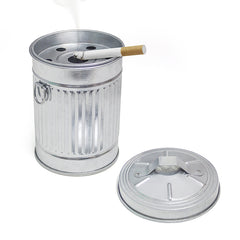 Ashtray Garbage Can