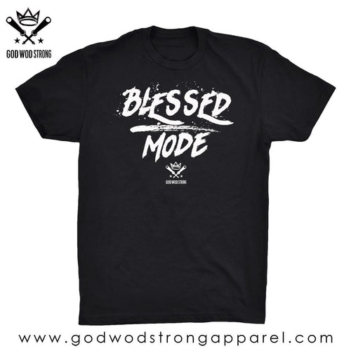 BLESSED MODE MENS SHIRT