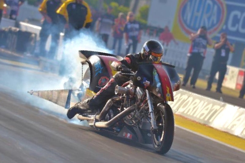 After career-best drag race, Harley rider Rickey House looking to wow hometown fans