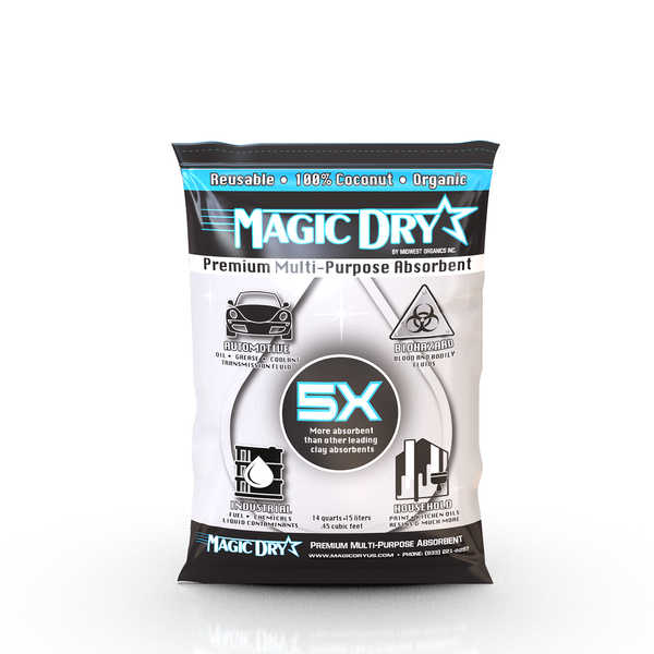 Magic Dry US, 100% Naturally made from coconut shells