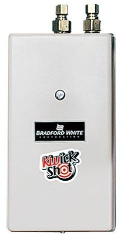 Bradford White KwickShot Electric Tankless Water Heaters 3.5KW - waterheaterdubai