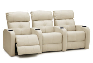 Stereo Reclining Theater Seating Sofa (Palliser)