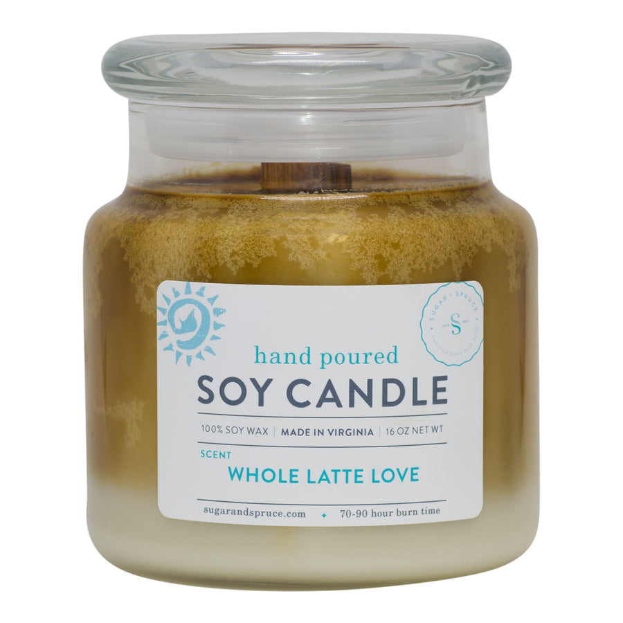 Whole Latte Love Candle Large