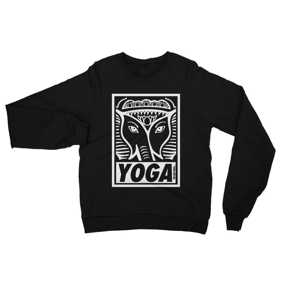 Yoga Stamp Fleece Sweatshirt