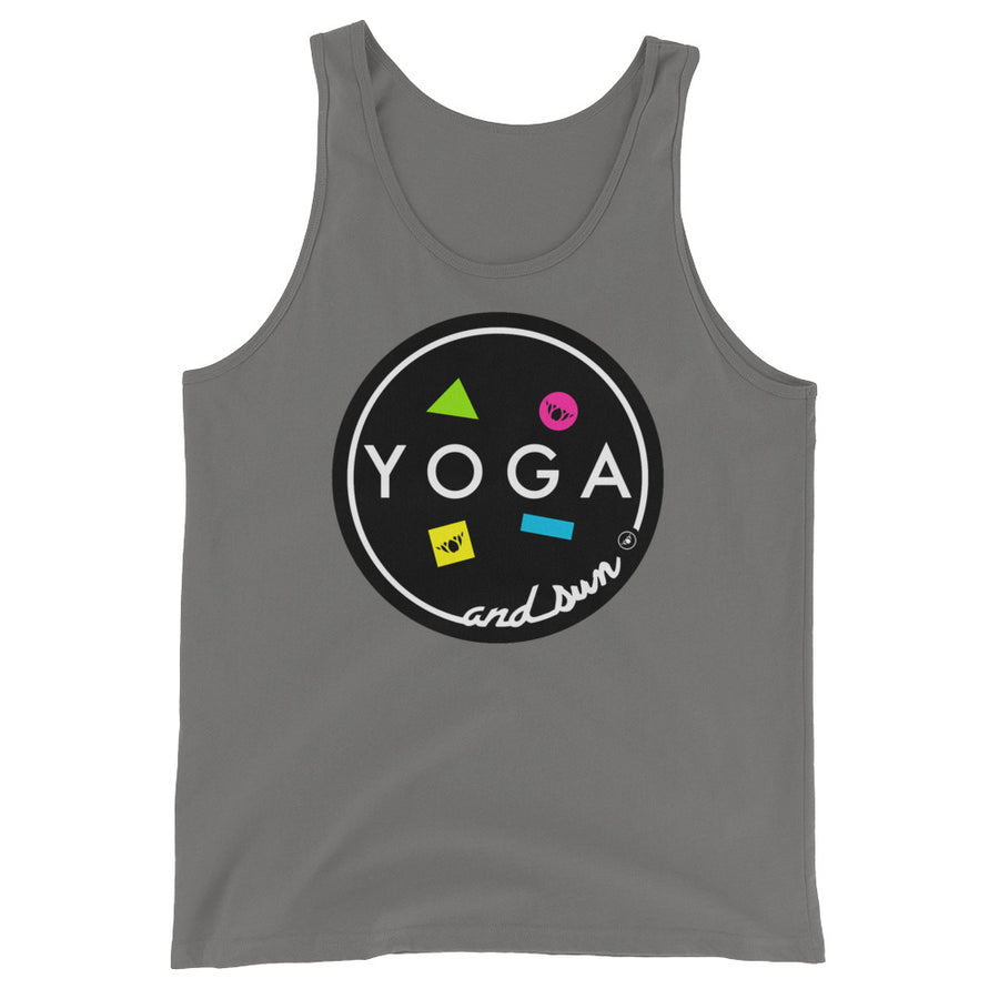 YOGA AND SUN-Unisex  Tank Top
