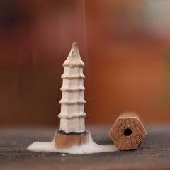 How to burn pagoda cone incense