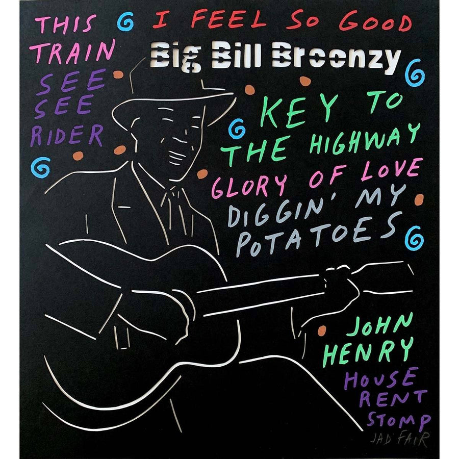 Big Bill Broonzy - Jad Fair - Yard Dog Art