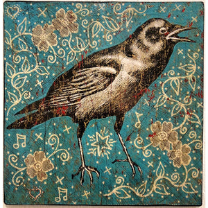 Crow - Jon Langford - Yard Dog Art