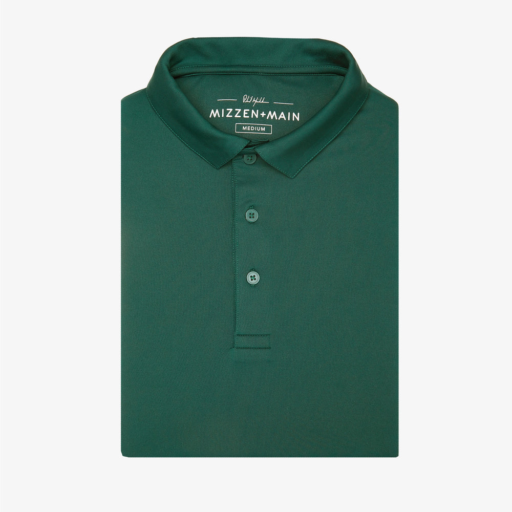 Phil Mickelson Golf Polo - Dark Green, featured product shot
