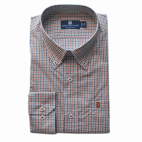 Alabama Auburn Gameday Statesman Button-Down Shirt