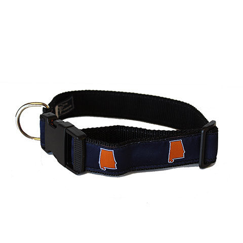 Alabama Auburn Gameday Dog Collar
