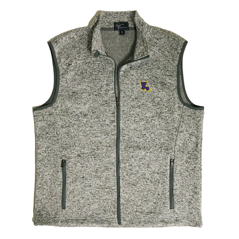 Louisiana Baton Rouge Gameday Heather Sweater Vest