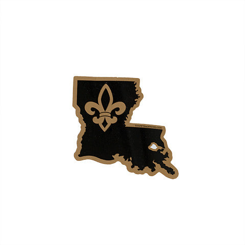 Louisiana Who Dat Sticker