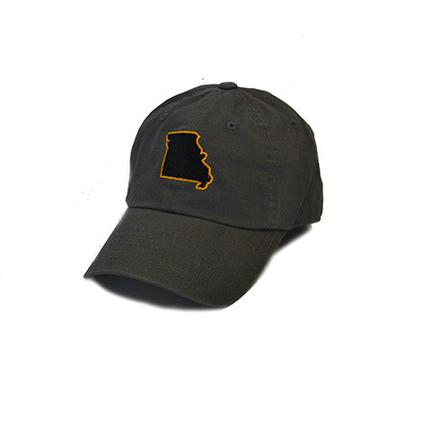Missouri Columbia Gameday Hat Grey